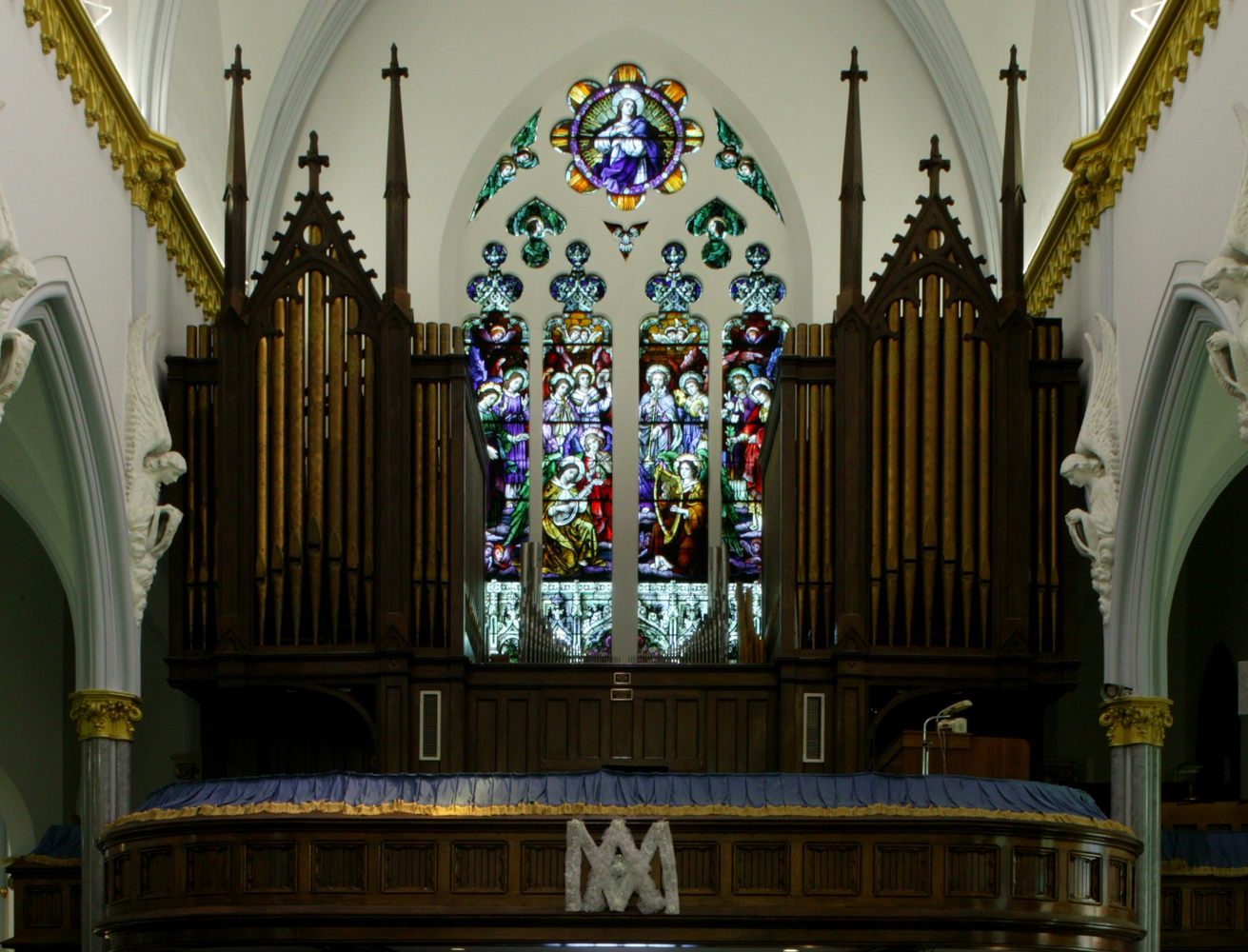 Pipe Organ - BASILICA OF THE IMMACULATE CONCEPTION